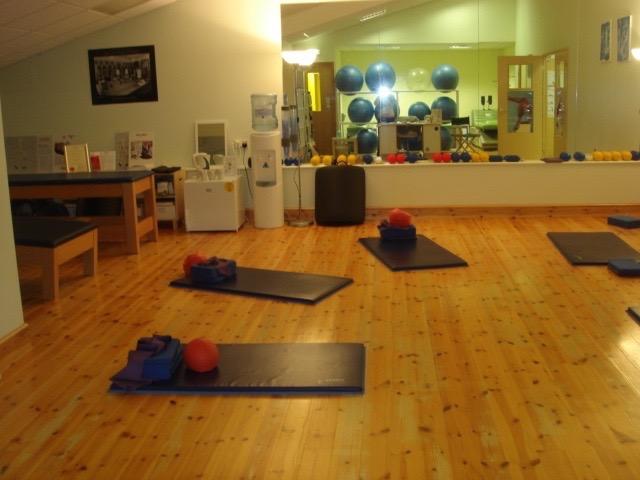 Pilates Studio Class